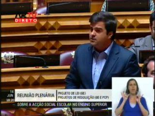 Intervenção de Duarte Marques na AR sobre a Acção Social do Ens. Superior 11/12