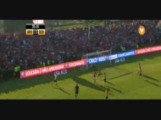 Arouca 1-3 Benfica - Golo de Lima (56min)