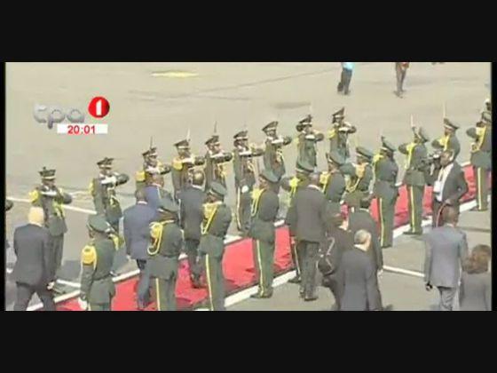 ANGOLA - FRANÇA - François Hollande termina visita