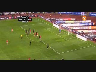 Académica 1-2 Benfica - Golo de R. Jiménez (85min)