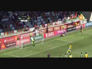Marítimo 1-2 Arouca - Golo de David Simão (12min)