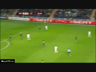 Fenerbahce 1-1 Lille 25.02.2010 Highlights