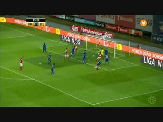 Sporting Braga 1-1 Belenenses - Golo de Pedro Tiba (86min)
