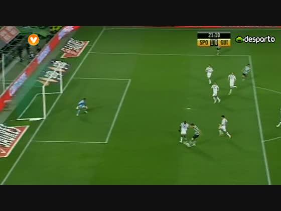 22J :: Sporting - 5 x Guimarães - 0 de 2011/2012