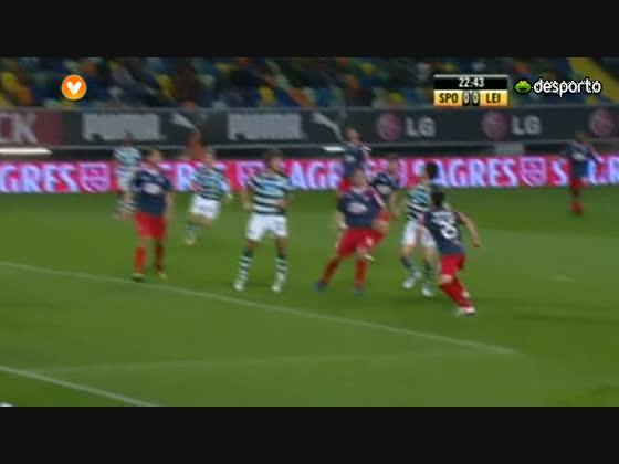 24J ::  Sporting - 0 x Leiria - 0 de 2010/2011