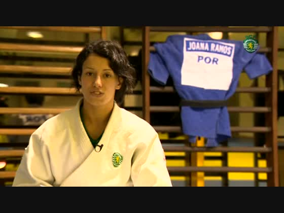 Judo :: Joana Ramos: «Sorte de representar o Sporting»
