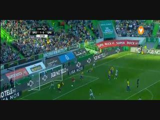 Sporting CP 2-0 União Madeira - Golo de João Mário (19min)