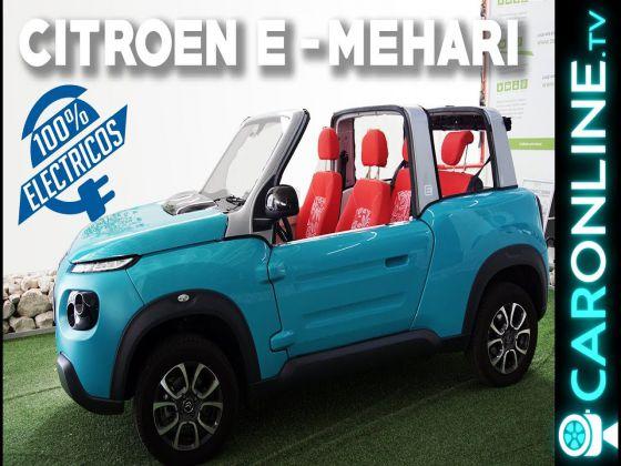 CITROEN e-MEHARI 2017 é à PROVA de ÁGUA!