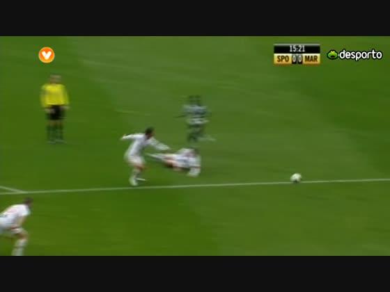 18J :: Sporting - 0 x Marítimo - 1 de 2012/2013