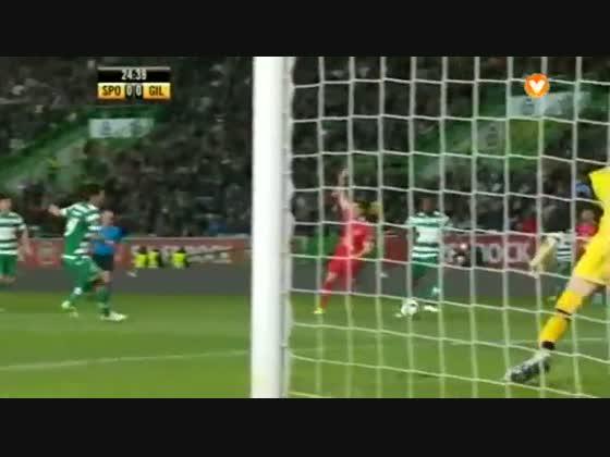 22J :: Sporting - 2 x Gil Vicente - 0 de 2014/2015
