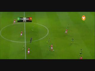 Tondela 0-4 Benfica - Golo de Goncalo Guedes (42min)