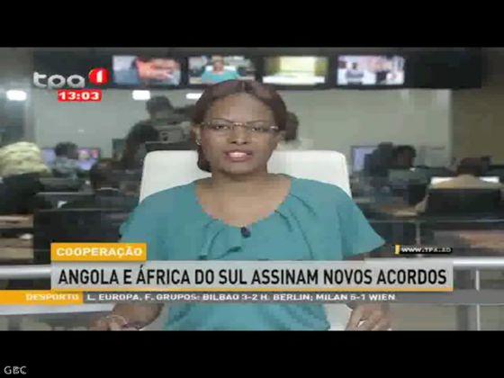 Angola e África do Sul assinam novos acordos