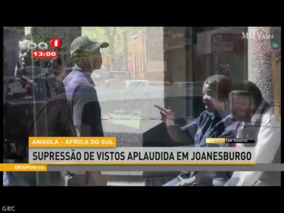 """Supressão de vistos """"Angola - África do Sul"""" aplaudida em Joanesburgo"""