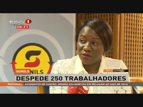 SONILS despede 250 trabalhadores