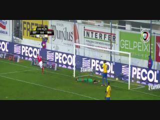 Estoril 0-6 Sporting Braga - Golo de Wilson Eduardo (7min)