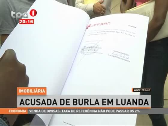Imobiliária acusada de burla em Luanda