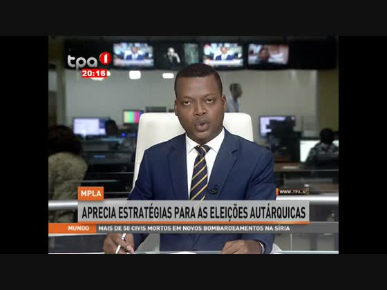 MPLA aprecia estratégias para as eleições autárquicas