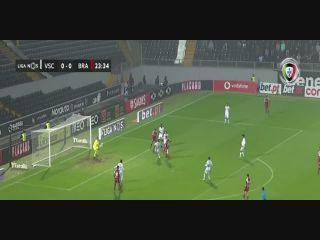 Vitoria Guimaraes 0-2 Sporting Braga - Golo de Paulinho (24min)