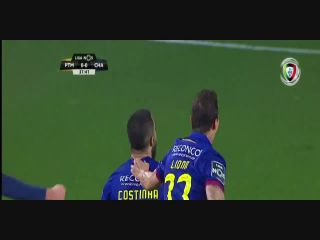 Portimonense 0-1 Chaves - Golo de Costinha (38min)