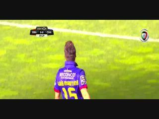 Braga 2-1 Chaves - Goal by Luís Martins (51')