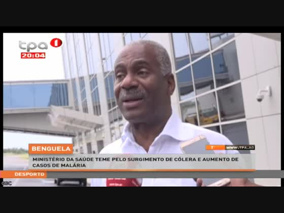 Ministério da Saúde teme pelo surgimento de cólera e aumento de casos de malaria