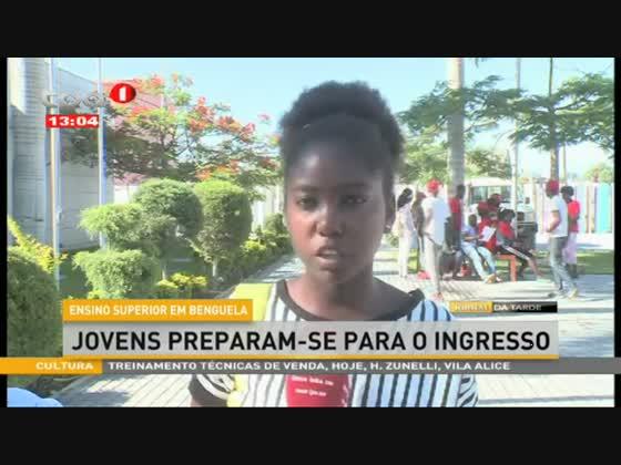 Ensino superior em Benguela - Jovens preparam-se para o ingresso